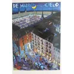 POSTER MADRID AL CIELO PEQ.