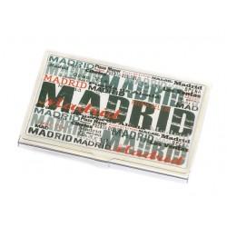 TARJETERO MADRID LETRAS
