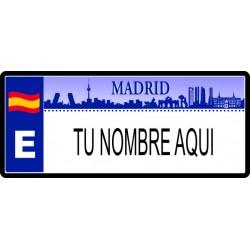 MATRICULA SKYLINE MADRID