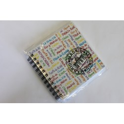 LIBRETA 15X15 MADRID SELLO