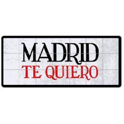MATRÍCULA MADRID TE QUIERO