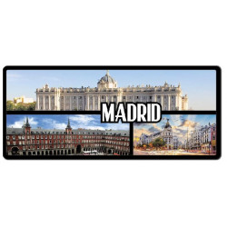 MATRÍCULA MADRID POSTALES 1