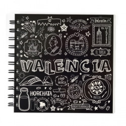LIBRETA 15X15 VALENCIA TIZA